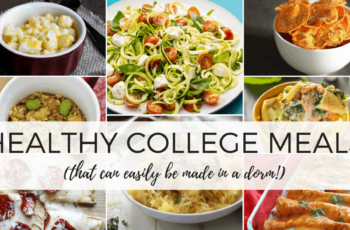 9 Insanely Healthy College Meals You Can Make In A Dorm - By ...