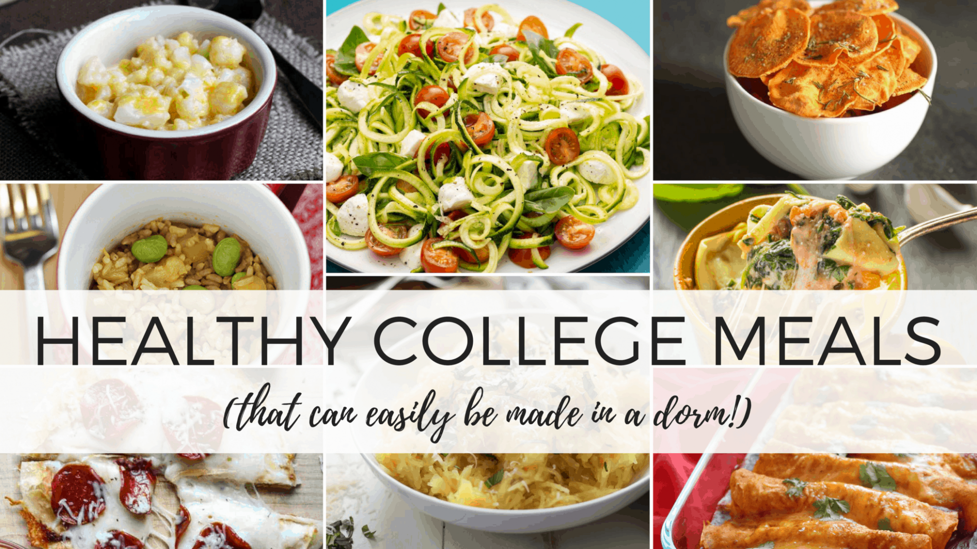 9 Insanely Healthy College Meals You Can Make In A Dorm - By ..