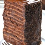 9 Layer Chocolate Cake | Chocolate Cake Recipe Topped With Ganache – Recipe Chocolate Layer Cake