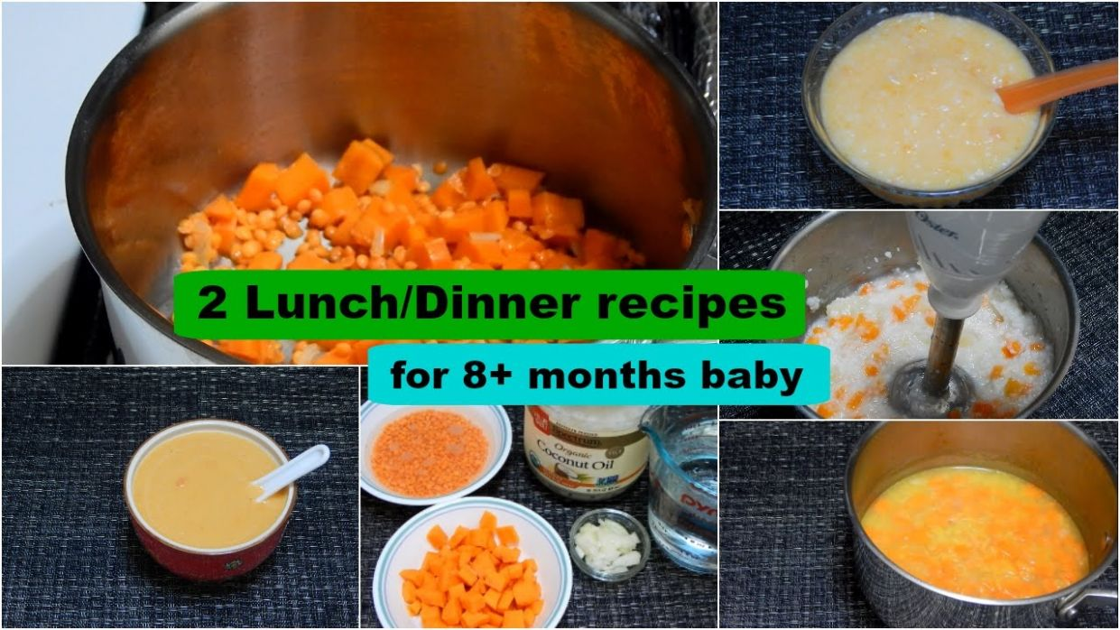 9 Lunch/Dinner Recipes for 9+ months Baby l Healthy Baby Food Recipe l  Stage 9 Homemade Baby Food - Food Recipes For 8 Month Old