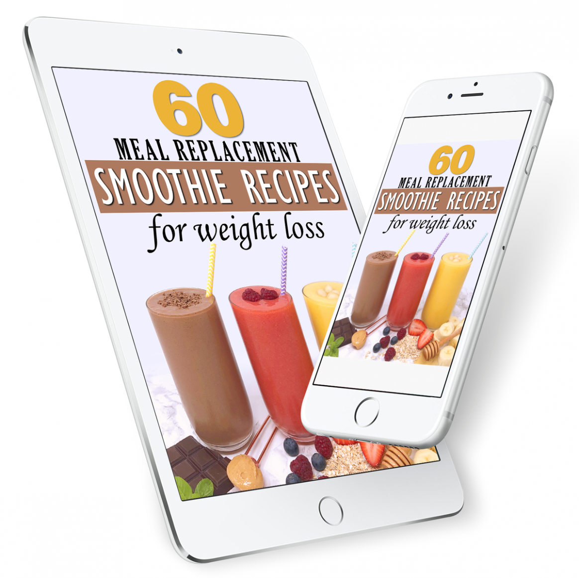 9 Meal Replacement Smoothies eBook - Smoothie Recipes For Weight Loss Meal Replacement