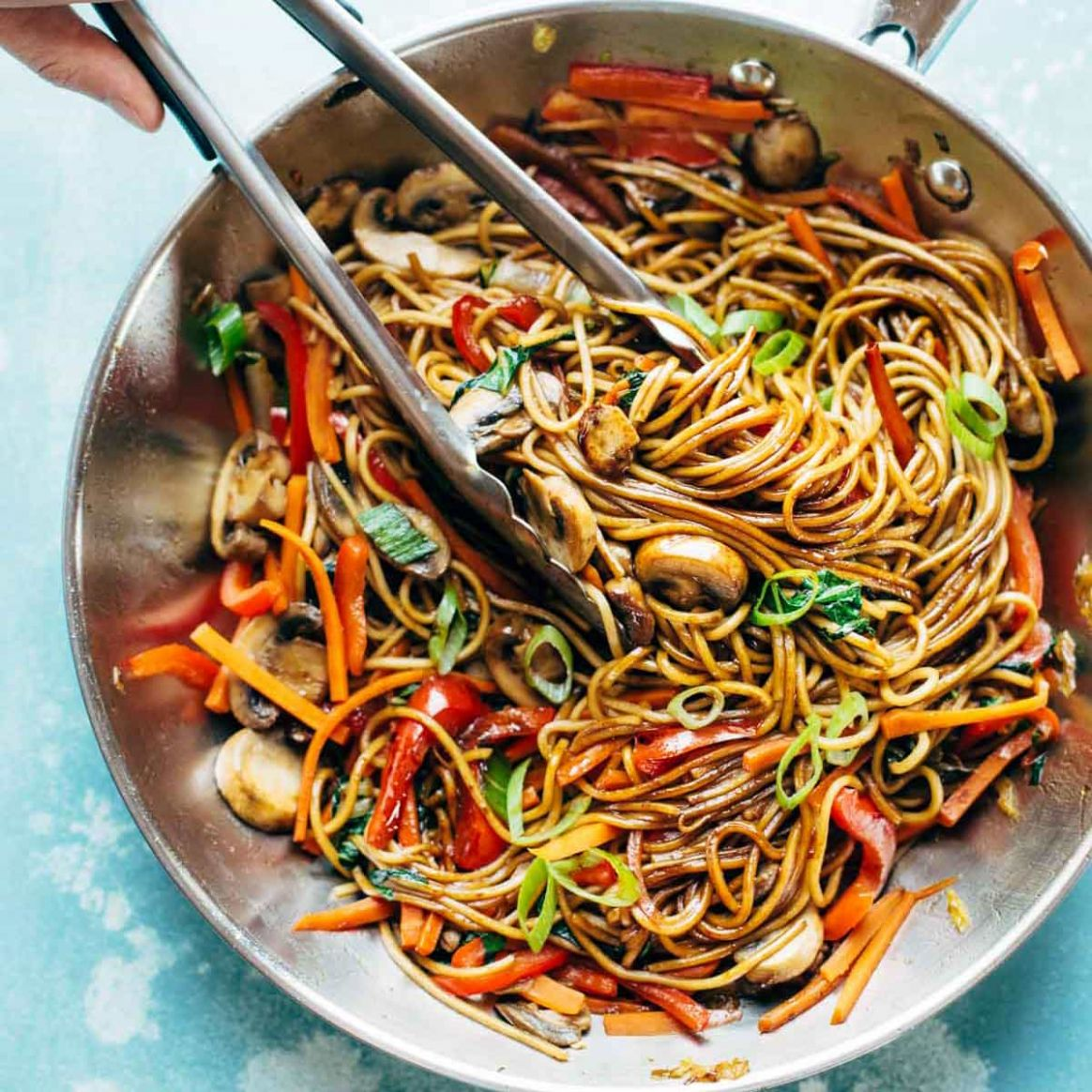 9 Minute Lo Mein - Recipes Vegetable Lo Mein