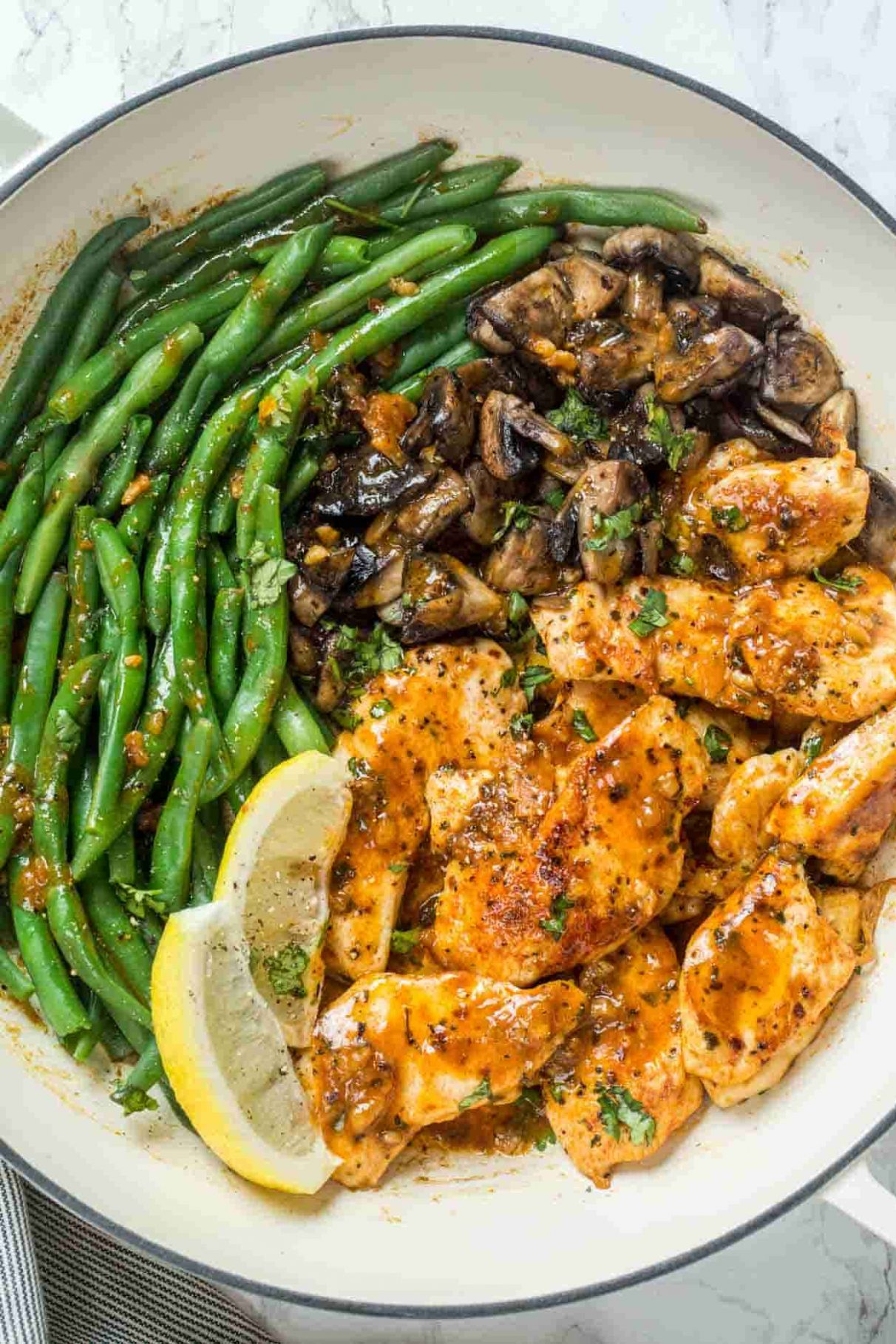 9 Minute One Pan Lemon Chicken Breast - Recipes With Chicken Breast For One