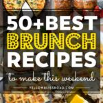 9 Of The Best Brunch Recipes To Make This Weekend – Breakfast Recipes Large Groups