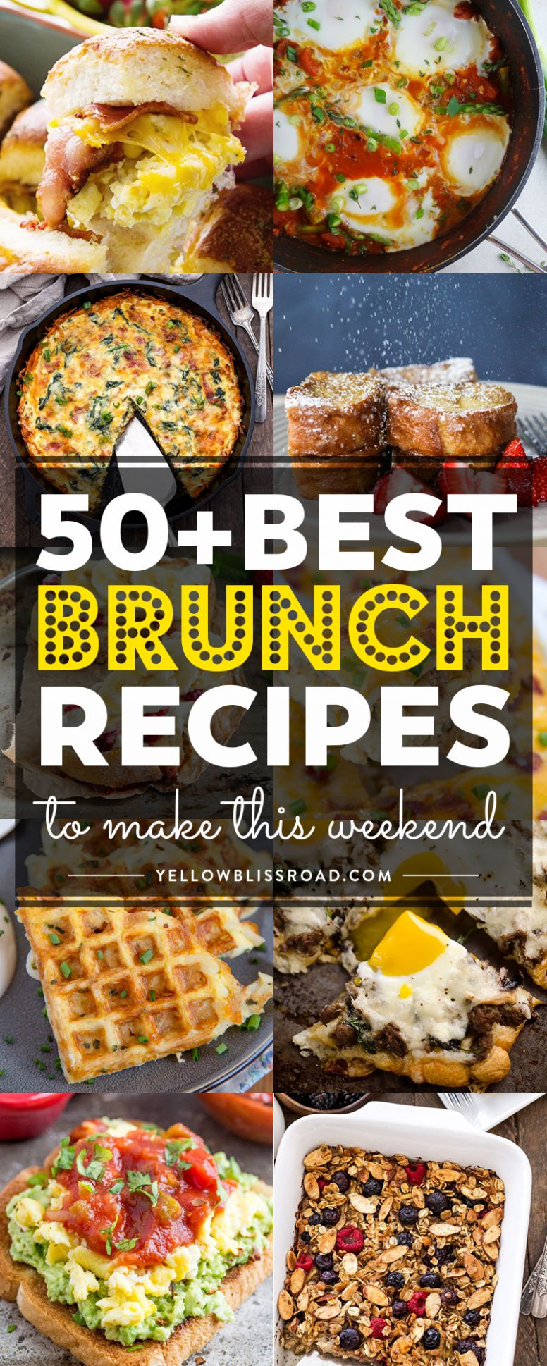 9 of the Best Brunch Recipes to Make this Weekend - Breakfast Recipes Large Groups