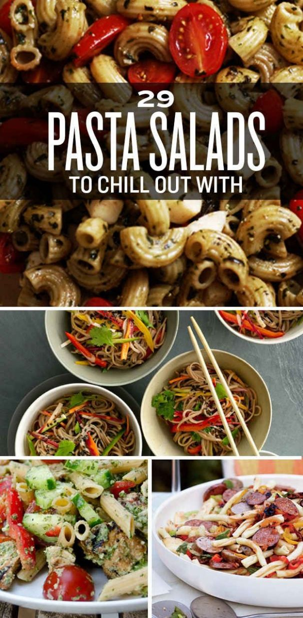 9 Pasta Salads To Chill Out With This Summer   Summer pasta salad ..
