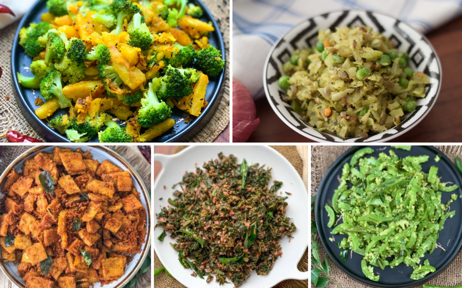 9 Quick & Easy South Indian Dry Vegetable Recipes Under 9 ..
