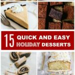 9 Quick And Easy Holiday Desserts – Pretty. Simple. Sweet