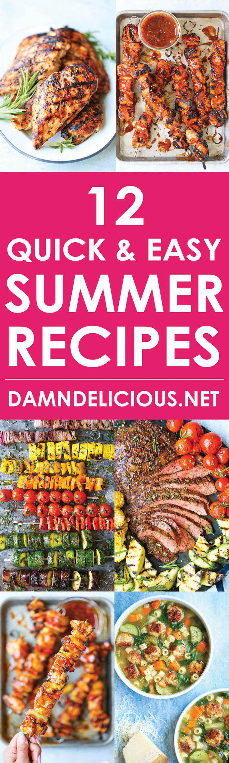 9 Quick and Easy Summer Recipes - Damn Delicious - Summer Recipes Quick And Easy