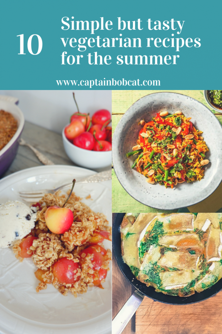 9 Simple But Tasty Vegetarian Recipes For The Summer - Captain Bobcat