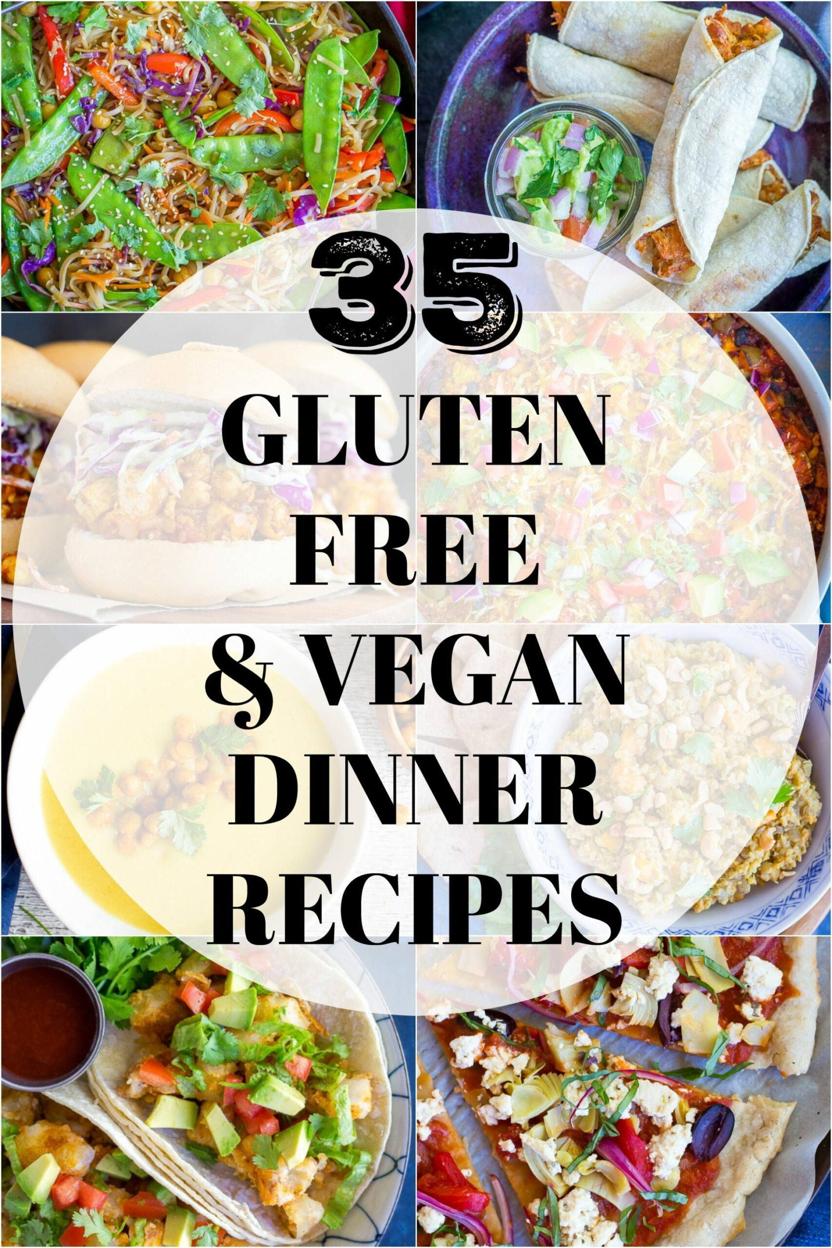 9 Vegan & Gluten Free Dinner Recipes - She Likes Food - Recipes Dinner Gluten Free