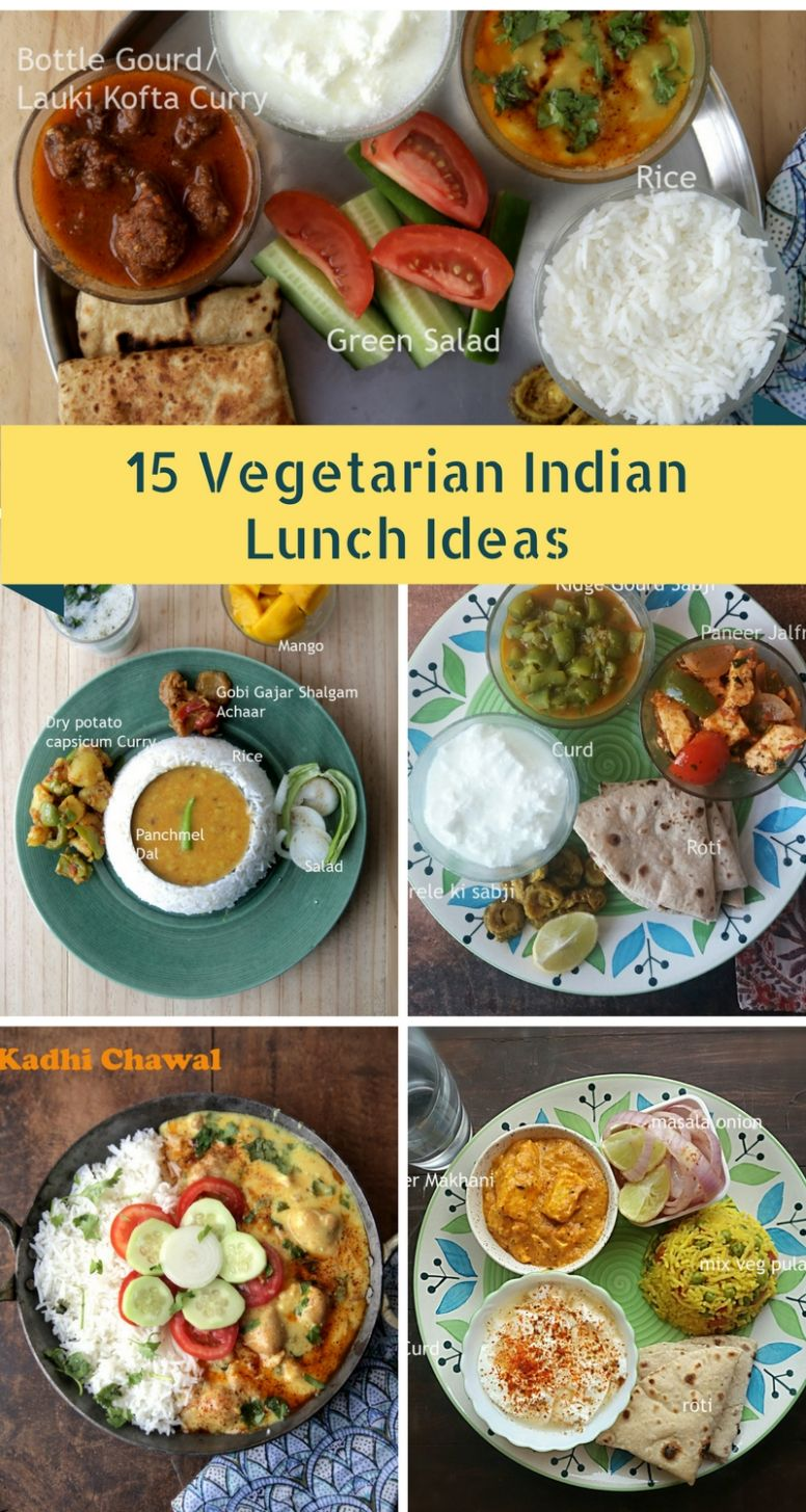 9 Vegetarian Indian Lunch Ideas - whats cooking mom - Simple Recipes Vegetarian Indian
