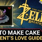 A Parent's Love Quest Guide | How To Make A Cake In Zelda BoTW | Tarry Town  Quests – Cake Recipes Botw