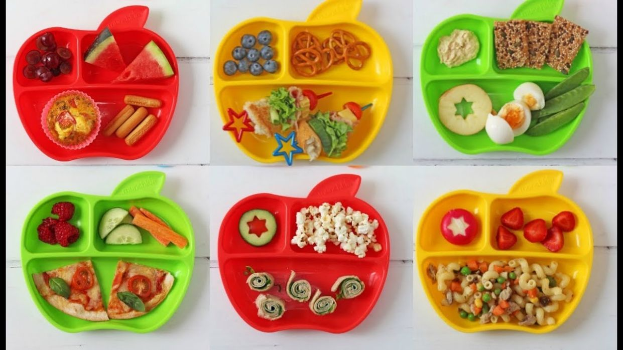 A Week of Lunch Ideas for Toddlers with Munchkin | Ad