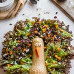 "Adorable Thanksgiving Salad With Butternut Squash ""Turkey"" – Salad Recipes For Thanksgiving"