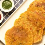 An Easy & Healthy Recipe For Besan Chilla   Tasty Vegetarian Breakfast  Recipes – Breakfast Recipes Of Besan
