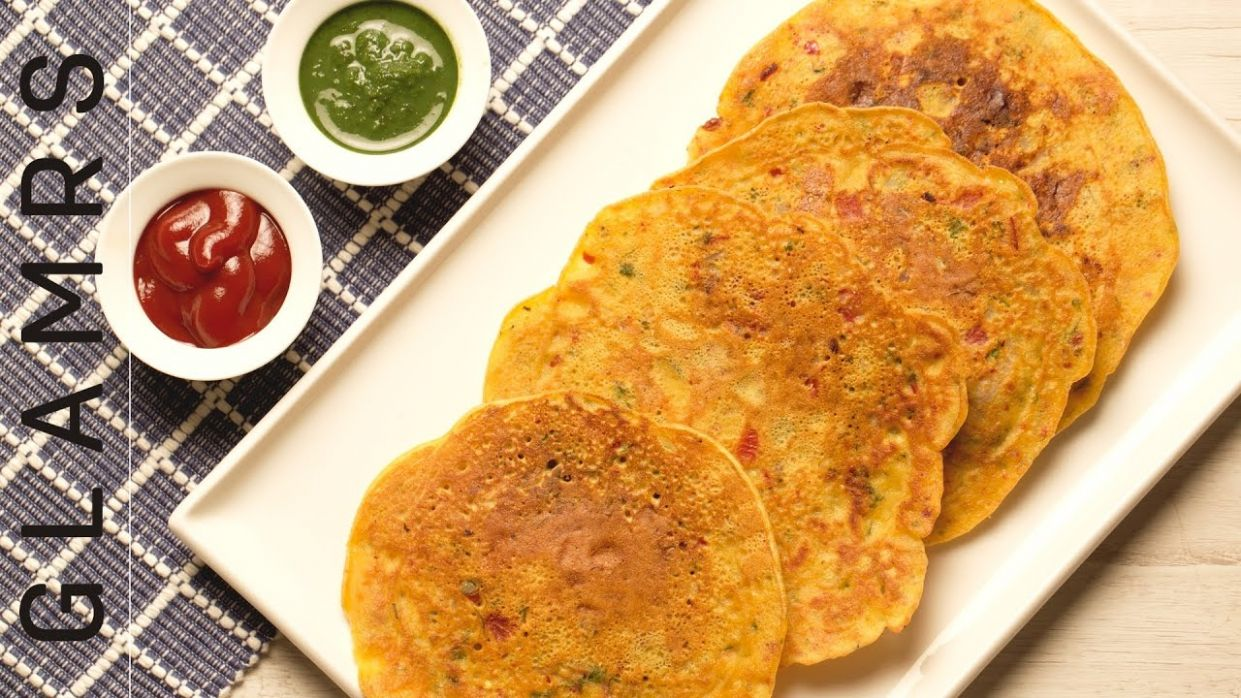 An Easy & Healthy Recipe for Besan Chilla   Tasty Vegetarian Breakfast  Recipes - Breakfast Recipes Of Besan