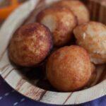 Andhra Style Paakundalu/ Pakam Undalu Recipe (Rice Flour Coconut Fritters) – Recipes Using Rice Flour For Baking