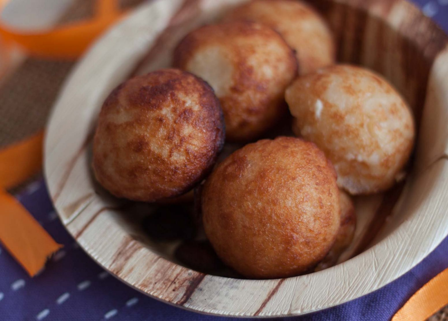 Andhra Style Paakundalu/ Pakam Undalu Recipe (Rice flour Coconut Fritters) - Recipes Using Rice Flour For Baking