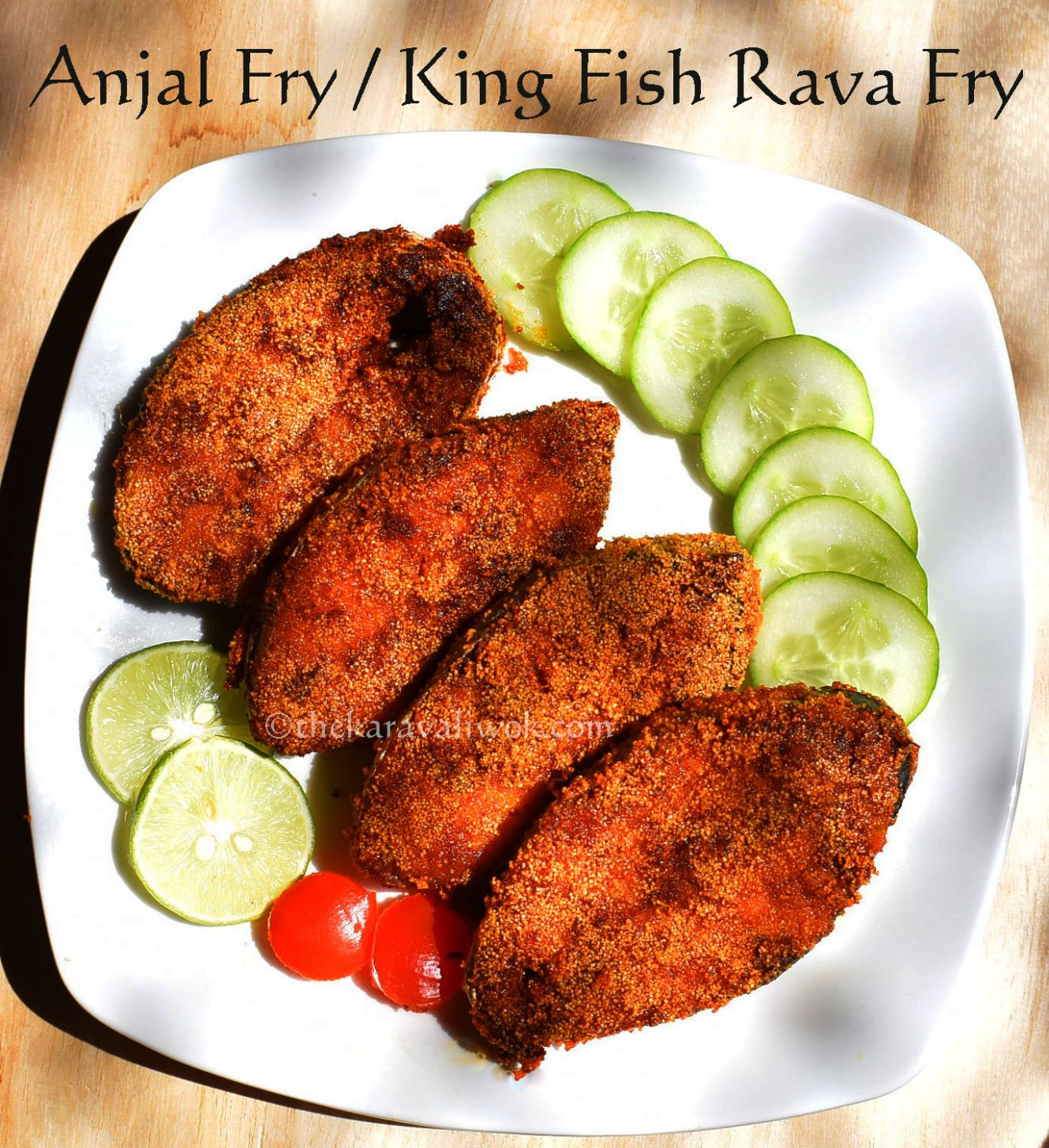 Anjal fry | King Fish Fry - Recipes Fish Fry