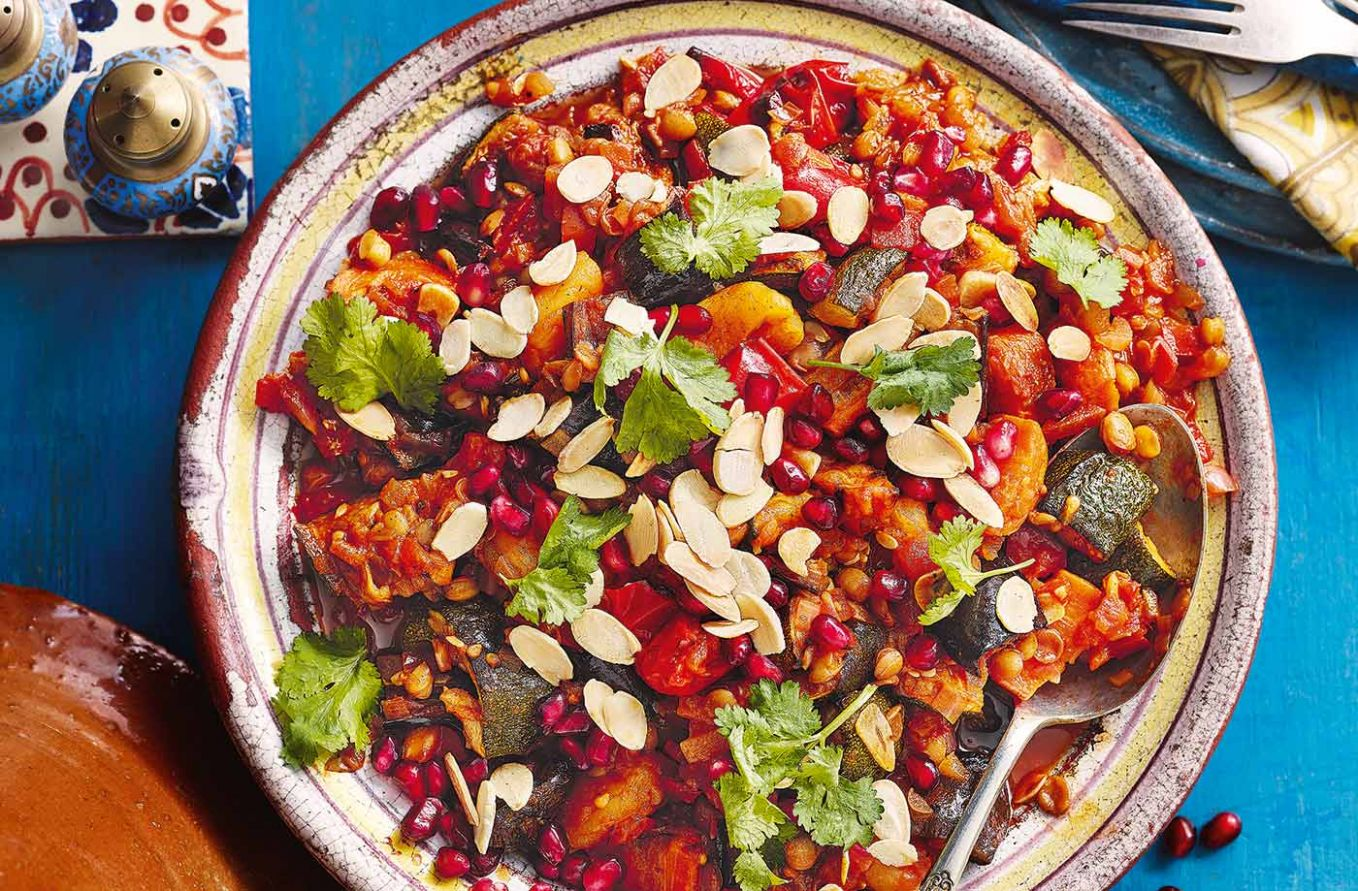 Apricot and honey vegetable tagine - Recipes Vegetable Tagine