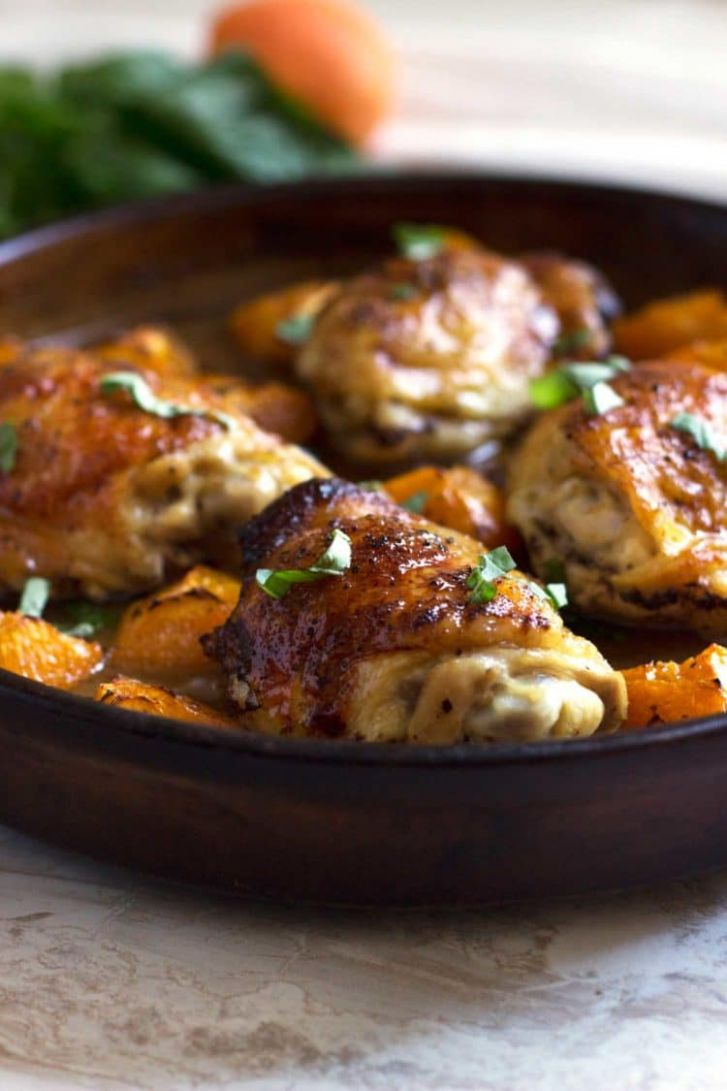 Apricot Baked Chicken - Recipe Chicken Breast Apricot Jam