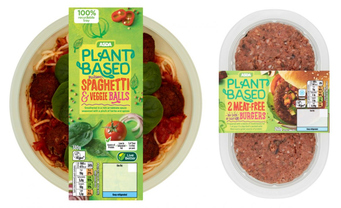 ASDA Launches Affordable Plant-Based Range With 11 Products ..