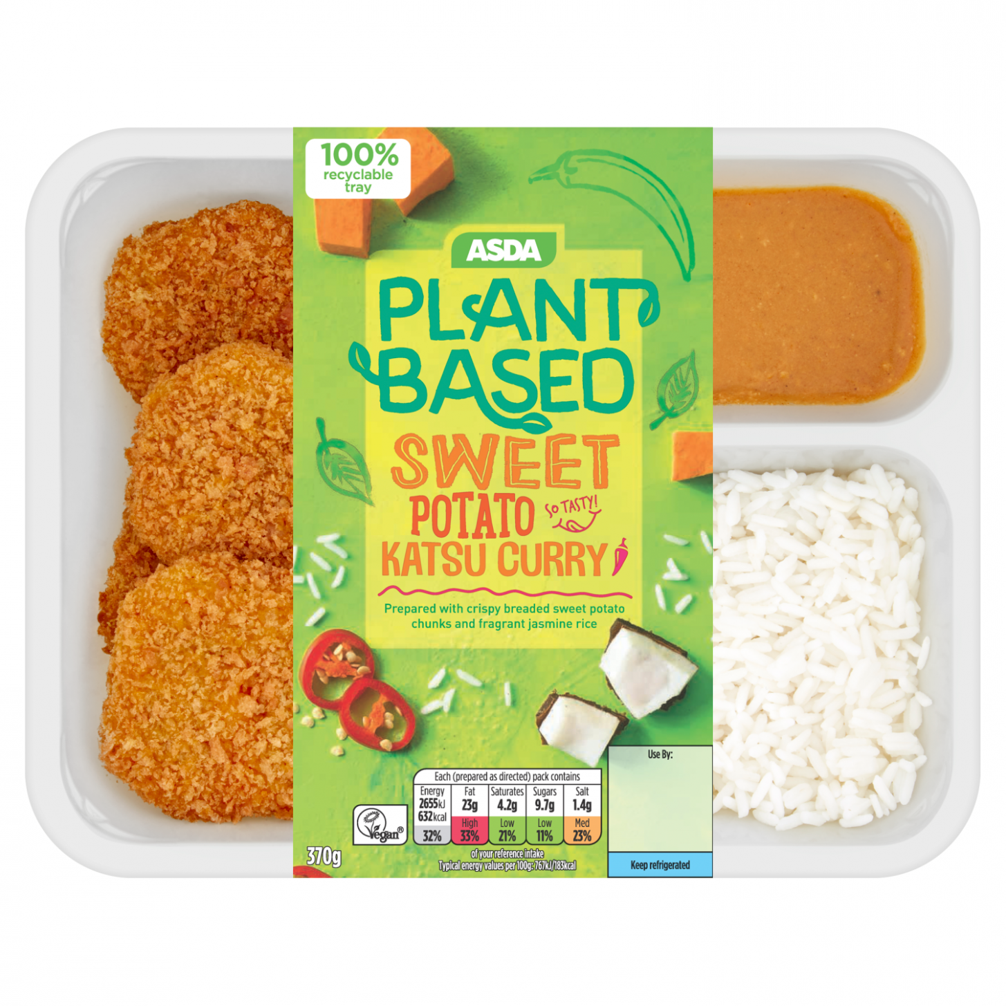Asda launches first vegan plant-based range with 11 new products - Healthy Recipes Asda