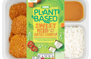 Asda launches first vegan plant-based range with 11 new products