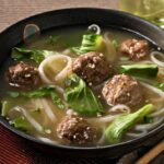 Asian New Year Meatball And Baby Bok Choy Soup – Soup Recipes Japanese Beef