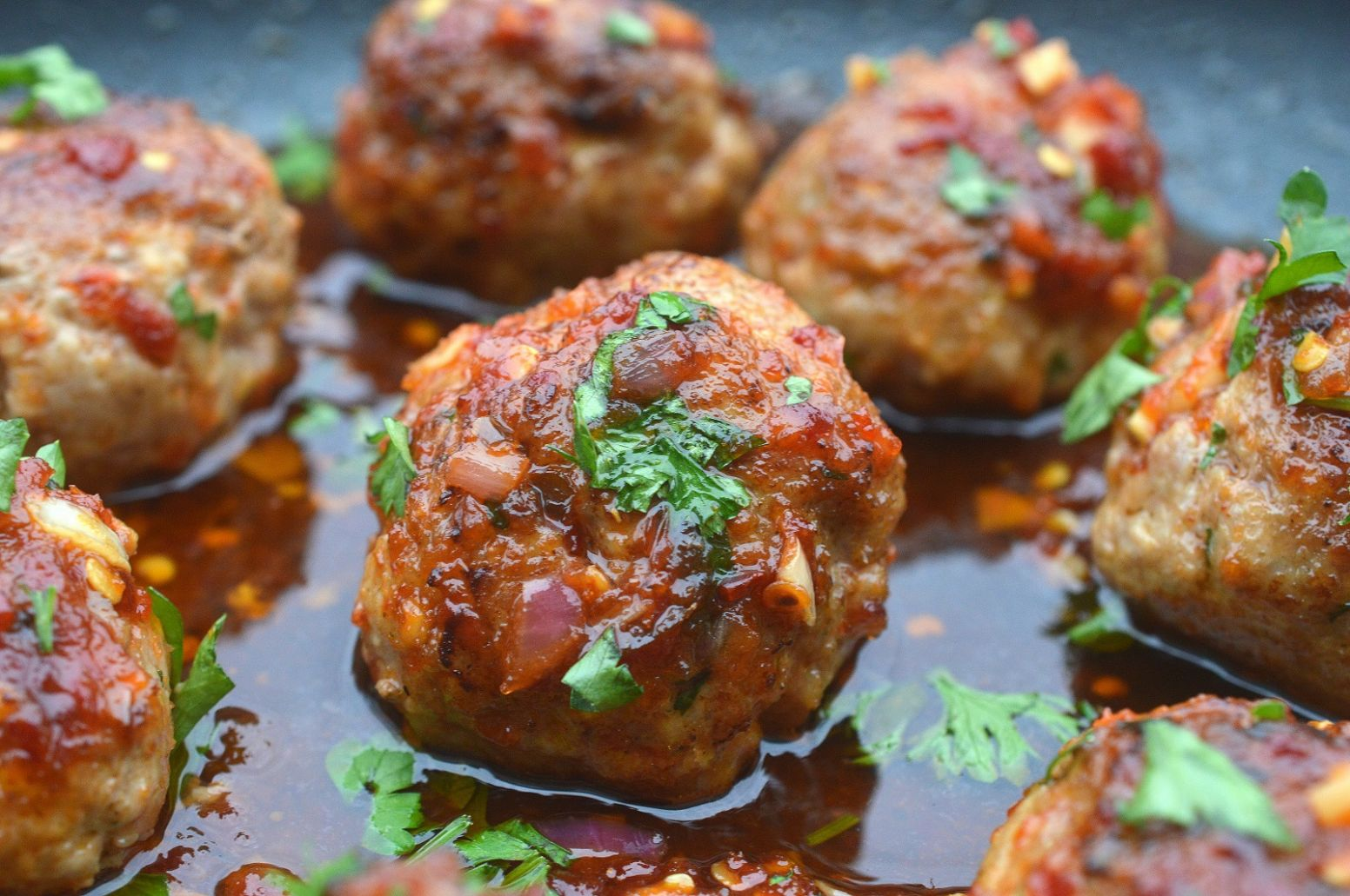 Asian Pork Meatballs - Recipes Pork Mince Meatballs