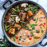 Asian Red Curry Hot Pot Broth