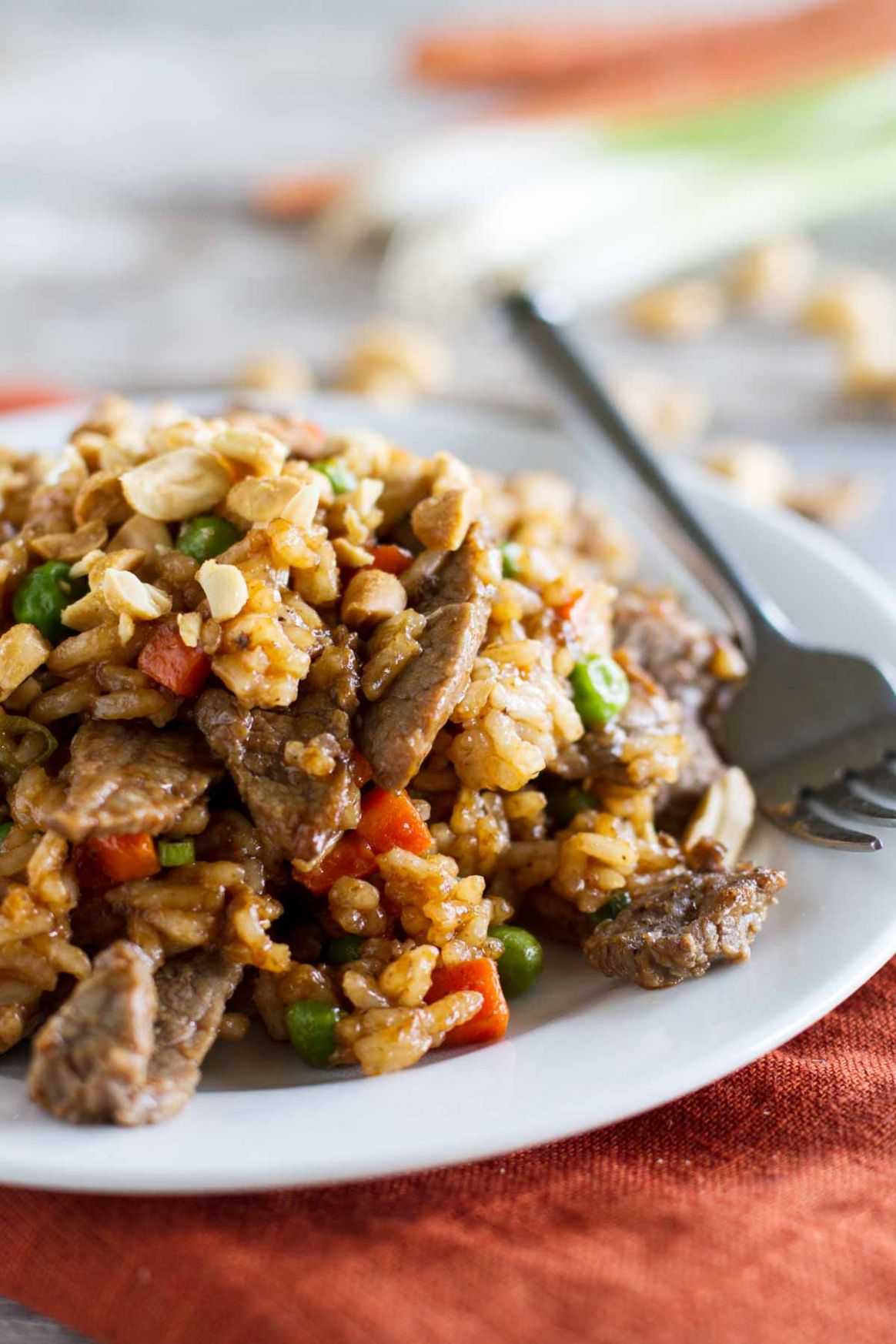 Asian Rice and Beef Stir Fry Recipe - Recipes Beef Fried Rice