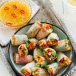 Asian Vegetable Rice Paper Rolls With Citrus Chilli Sauce – Recipes Using Rice Paper