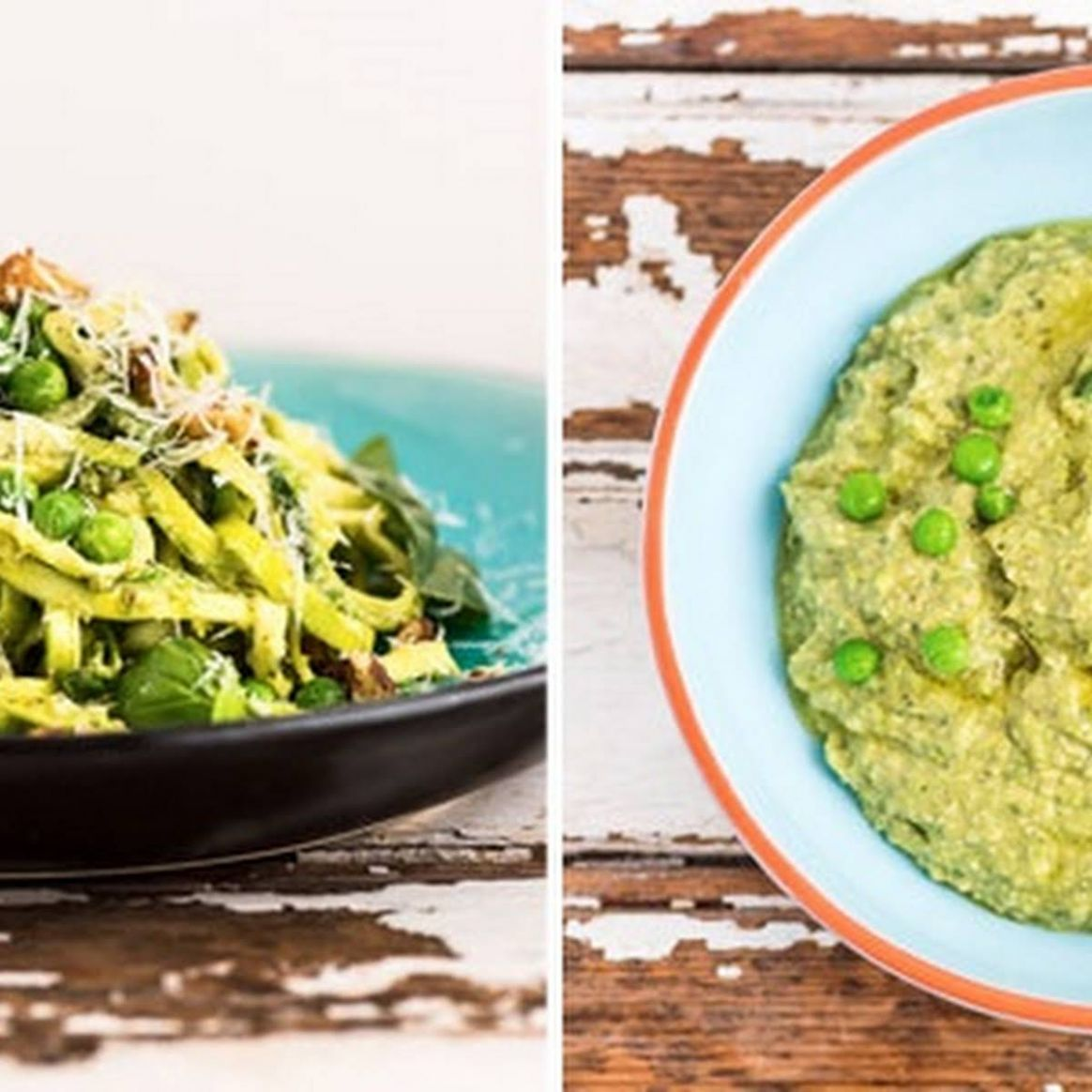 Baby Marrow Noodles With Avocado Pesto