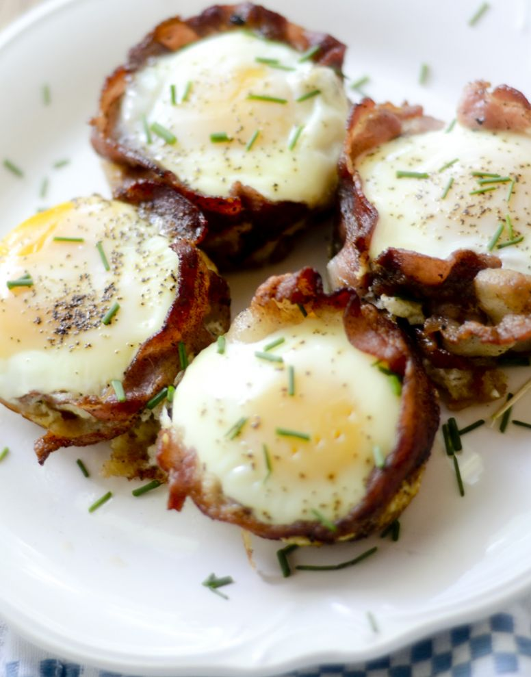 Bacon Breakfast Cups - Breakfast Recipes With Bacon