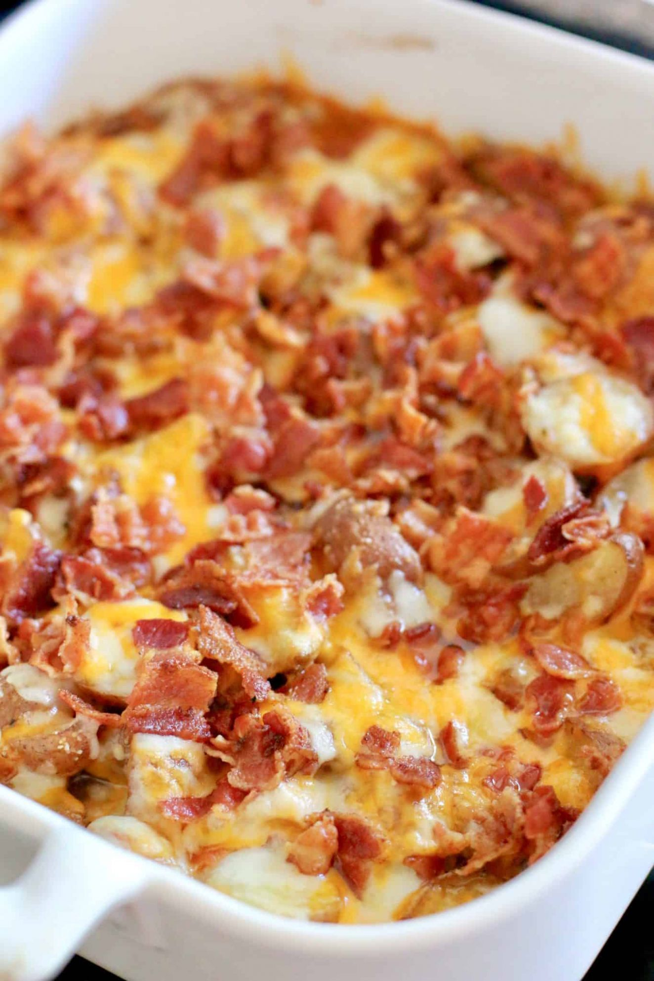 Bacon Cheddar Potatoes | The Country Cook | side dishes - Recipes Potato Bacon
