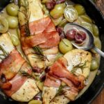 Bacon Wrapped Chicken Breasts In Grape Sauce – Recipe Chicken Breast Grapes