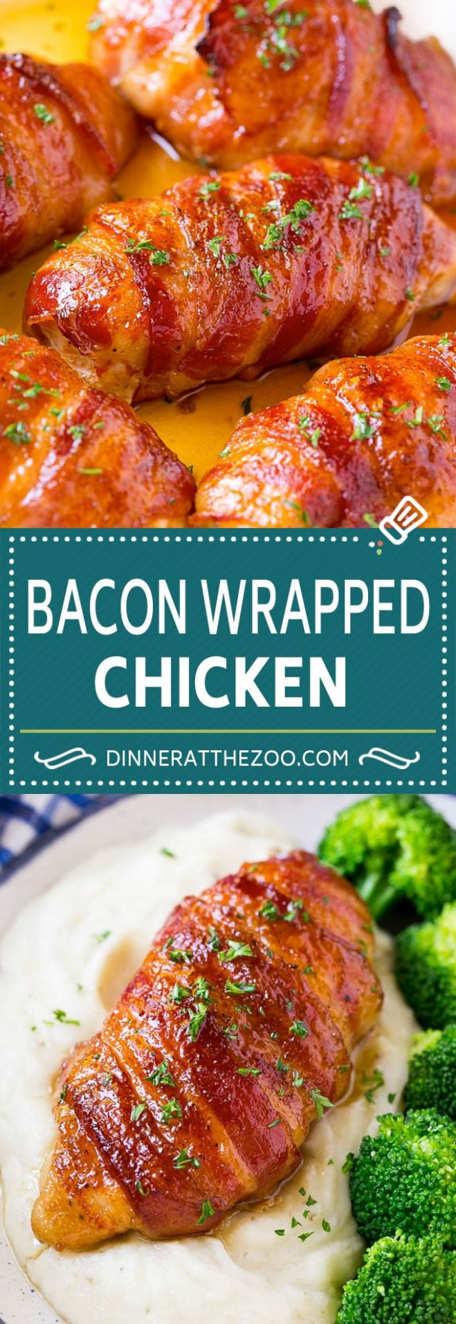 Bacon Wrapped Chicken - Dinner at the Zoo - Recipes Chicken Breast And Bacon