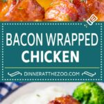 Bacon Wrapped Chicken – Dinner At The Zoo – Recipes Chicken Breast Wrapped In Bacon