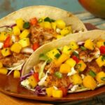 Baja Fish Tacos With Mango Salsa – Recipe Fish With Mango Salsa