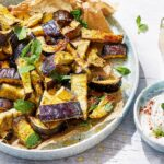 Baked Aubergine Chips With Honey And Thyme – Vegetarian Recipes Aubergine