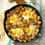 Baked Cheddar Eggs & Potatoes – Breakfast Recipes You Could Make With Eggs