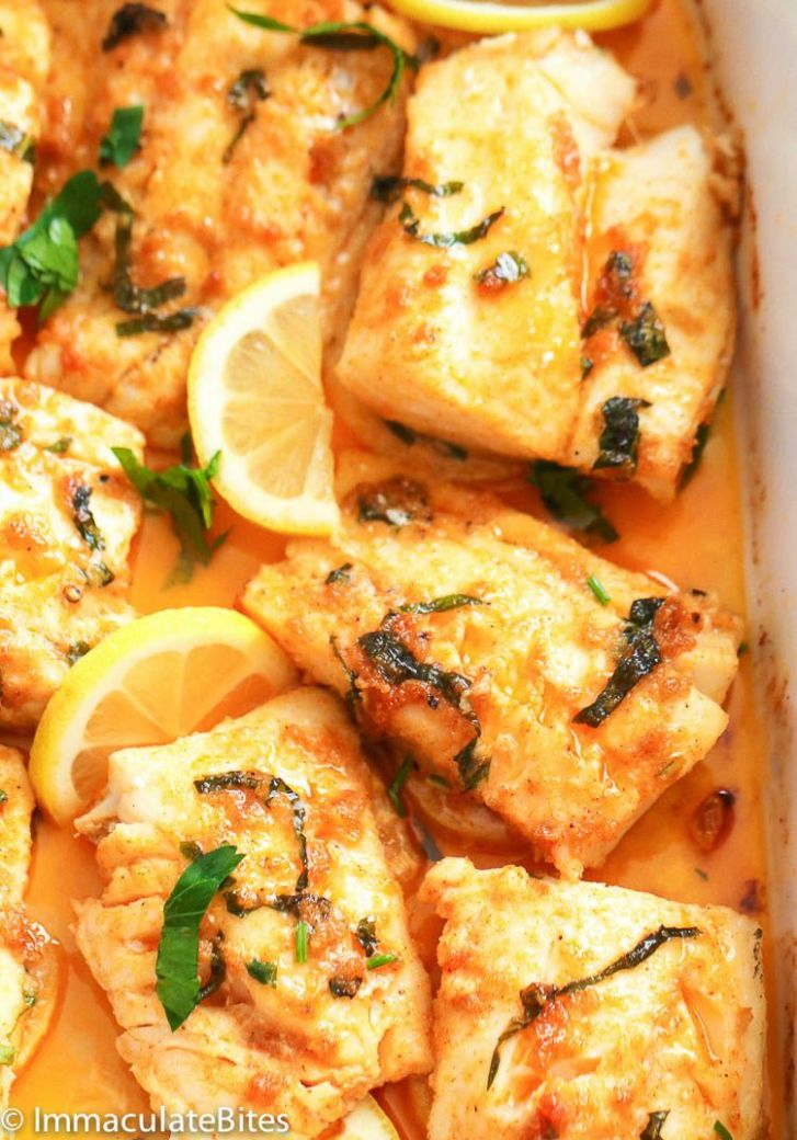 Baked Cod Recipe - Immaculate Bites - Recipes Cooking Cod