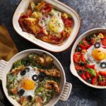 Baked Eggs Three Ways – Egg Recipes Uk
