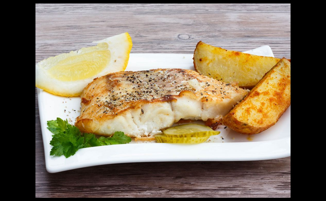 Baked Fish Fillets with Thyme-Dijon Topping - Recipes Fish Baked