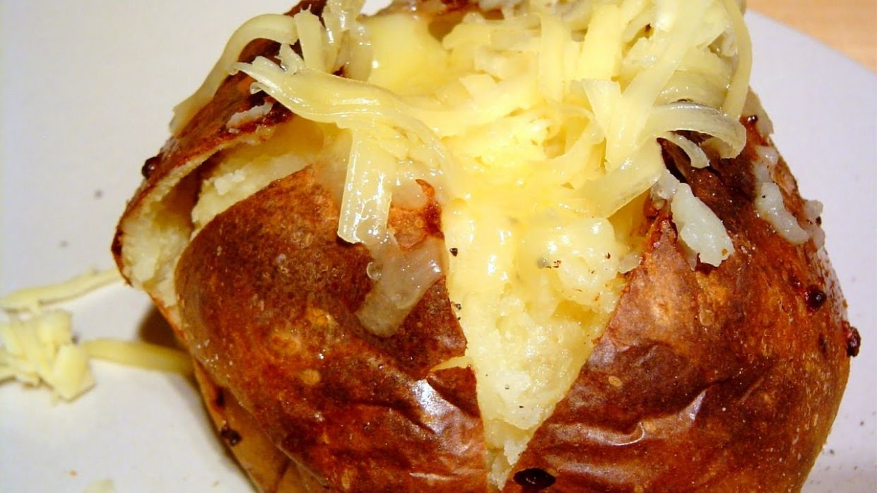 Baked Jacket Potato How to make recipe perfect Potatoes - Recipes Potato Jackets