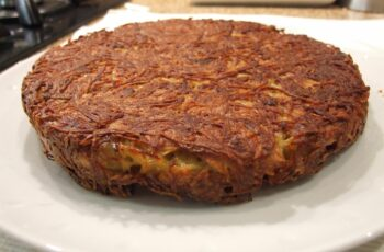 Baked potato rösti