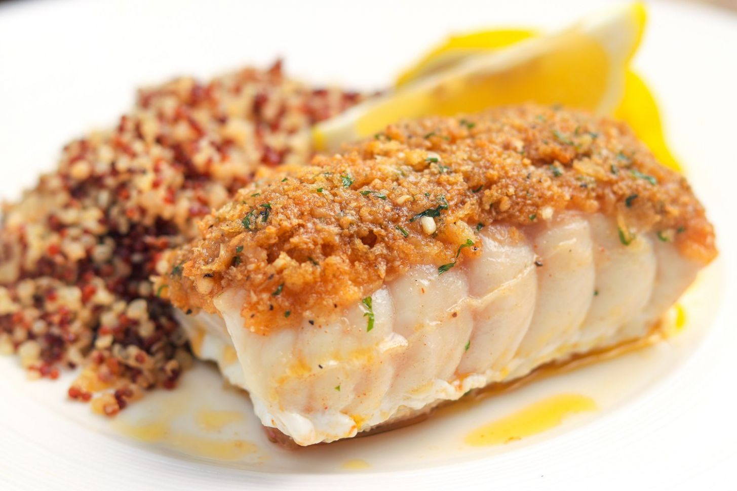 Baked Red Snapper With Garlic and Herbs Recipe - Recipes Cooking Fish