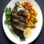 Baked Tilapia With Spicy Mango Salsa – PrincessTafadzwa – Fish Recipes In Zimbabwe